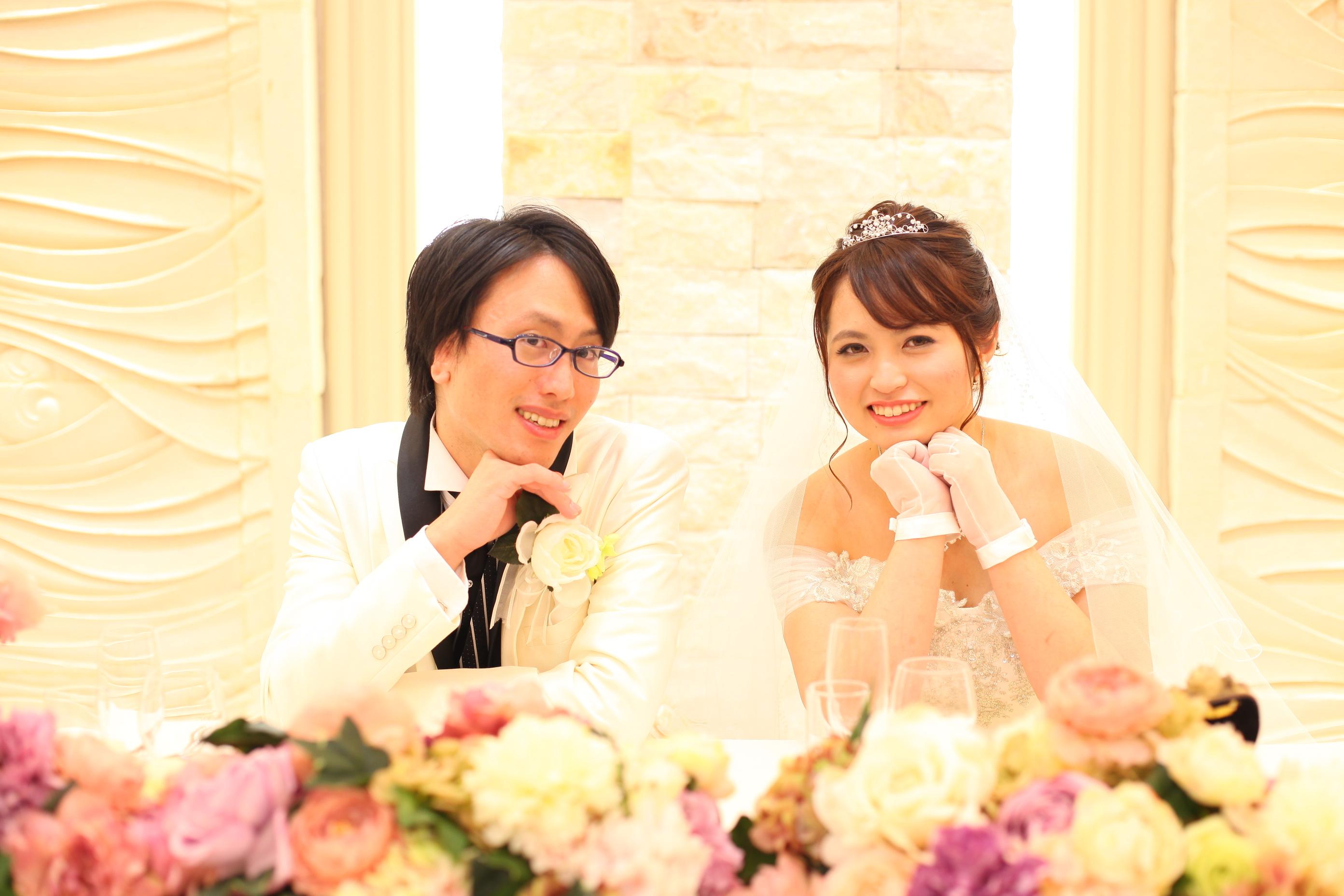 お二人とご友人様で創るsmile wedding